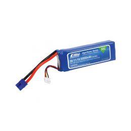 E-flite LiPo 11.1V 2200mAh 30C EC3 - 1