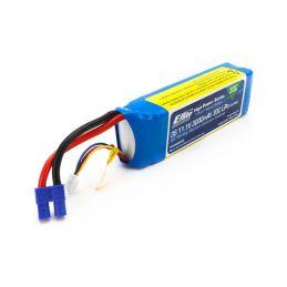 E-flite LiPo 11.1V 3000mAh 30C EC3 - 1