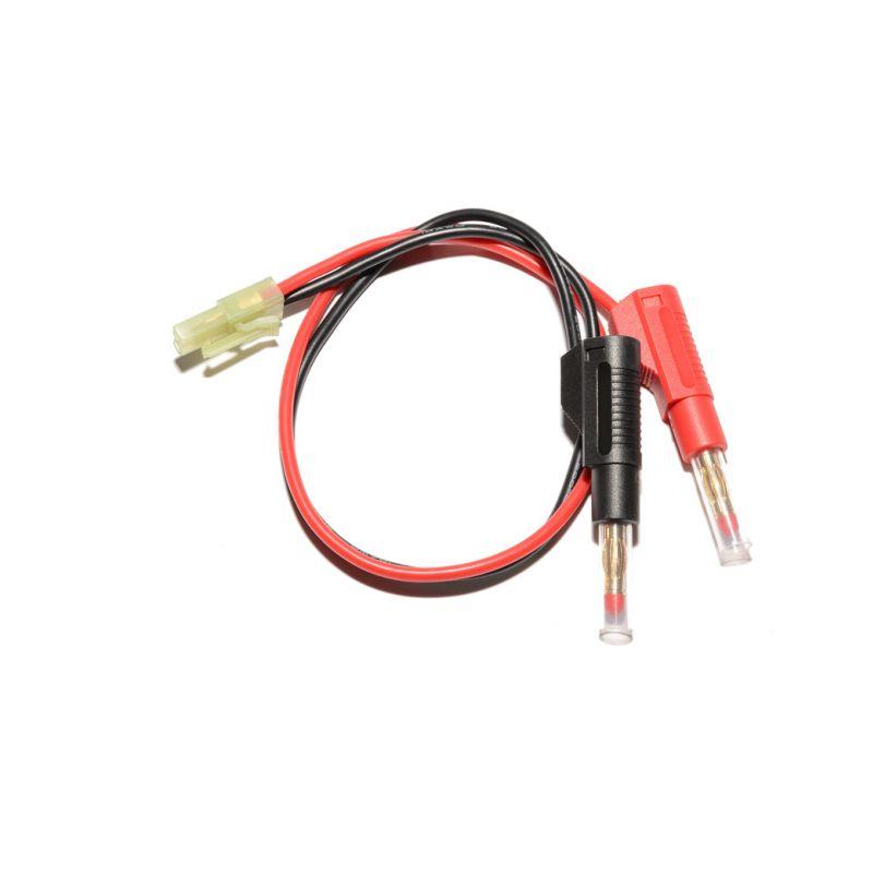 Nabíjecí kabel s banánky - Mini Tamiya - 1