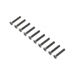 Losi šroub Flat Head M4x25mm (10) - 1