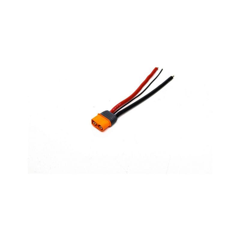 Spektrum konektor IC3 přístroj s kabelem 10cm 13AWG - 1