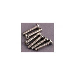 Traxxas šroub křížový M3x15mm půlkulatá hlava zink. (6) - 1