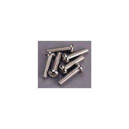 Traxxas šroub křížový M4x15mm půlkulatá hlava zink. (6) - 1