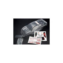 Traxxas karosérie nenabarvená, světlé samolepky: Rustler - 1