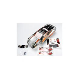 Traxxas karosérie ProGraphix tmavá: Rustler VXL - 1
