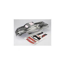 Traxxas karosérie ProGraphix stříbrná: T-Maxx 3.3 - 1