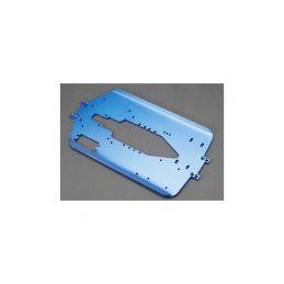 Traxxas šasi 4mm hliníkové modré (delší rozvod): T-Maxx - 1