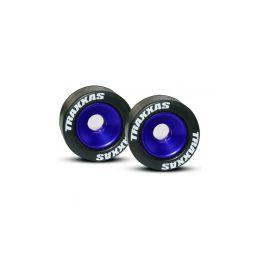Traxxas hliníkové kolo opěrných koleček (Wheelie) modré (2) - 1