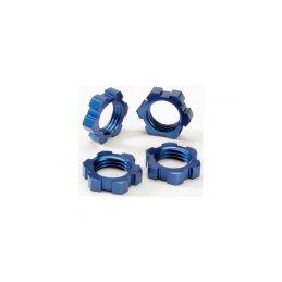 Traxxas matice kol 17mm hliníková modrá (4) - 1