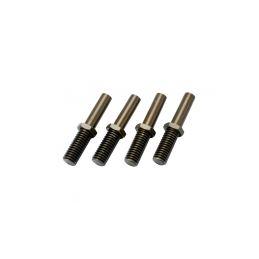 Traxxas hliníkové čepy vahadel (4) - 1