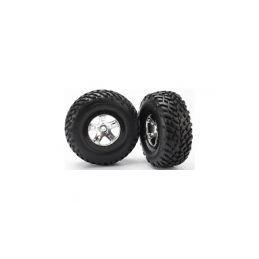 """Traxxas kolo 2.2/3.0"""", disk SCT saténový-černý, pneu SCT (2) - 1"""