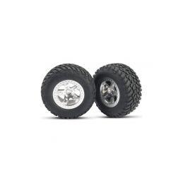 """Traxxas kolo 2.2/3.0"""", disk SCT saténový, pneu SCT (2) (2WD přední) - 1"""