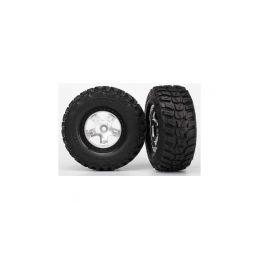"""Traxxas kolo 2.2/3.0"""", disk SCT saténový-černý, pneu Kumho (2) - 1"""