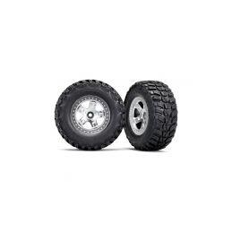 """Traxxas kolo 2.2/3.0"""", disk SCT saténový, pneu Kumho (2) (2WD přední) - 1"""