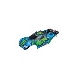 Traxxas karosérie zelená: Rustler 4x4 VXL - 1