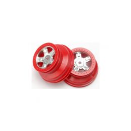 """Traxxas disk 1.4/1.8"""" SCT saténový-červený (2) - 1"""