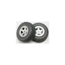 "Traxxas kolo 1.4/1.8"", disk SCT saténový, pneu SCT (2) - 1"