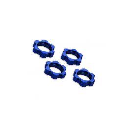 Traxxas matice kol 17mm hliníkové modré (4) - 1