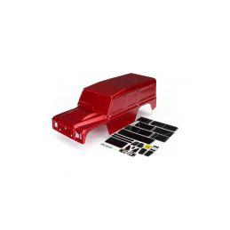 Traxxas karosérie Land Rover Defender červená: TRX-4 - 1