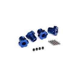 Traxxas náboj kola hliníkový modrý 17mm (4) - 1