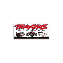 Traxxas racing banner 0.9x2.1m - 1