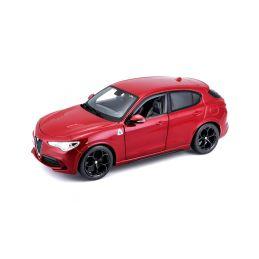 Bburago Alfa Romeo Stelvio 1:24 červená - 1