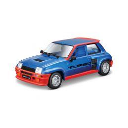 Bburago Renault 5 Turbo 1:24 modrá - 1