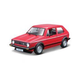 Bburago Volkswagen Golf MK1 GTI 1:24 červená - 1