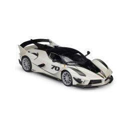 Bburago Ferrari FXX-K EVO No.70 1:18 bílá/černá - 1
