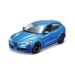Bburago Alfa Romeo Stelvio 1:24 modrá - 1