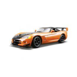 Bburago Dodge Viper SRT 10 ACR 1:24 oranžová - 1