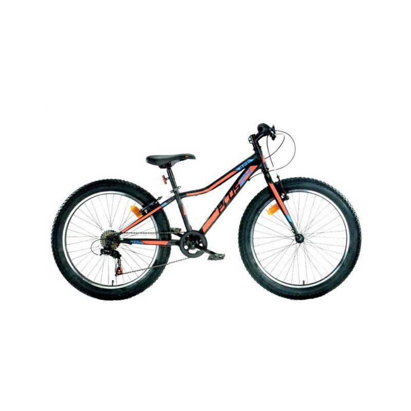 """DINO Bikes - Dětské kolo 24"""" Aurelia 424 černá - 1"""