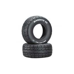 """Duratrax pneu 3.2/2.4"""" Bandito SC C3 (2) - 1"""