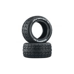 """Duratrax pneu 2.2"""" Bandito ST (2) - 1"""