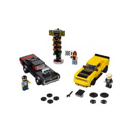 LEGO Speed Champions - 2018 Dodge Challenger SRT Demon a 1970 Dodge Charger R/T - 1