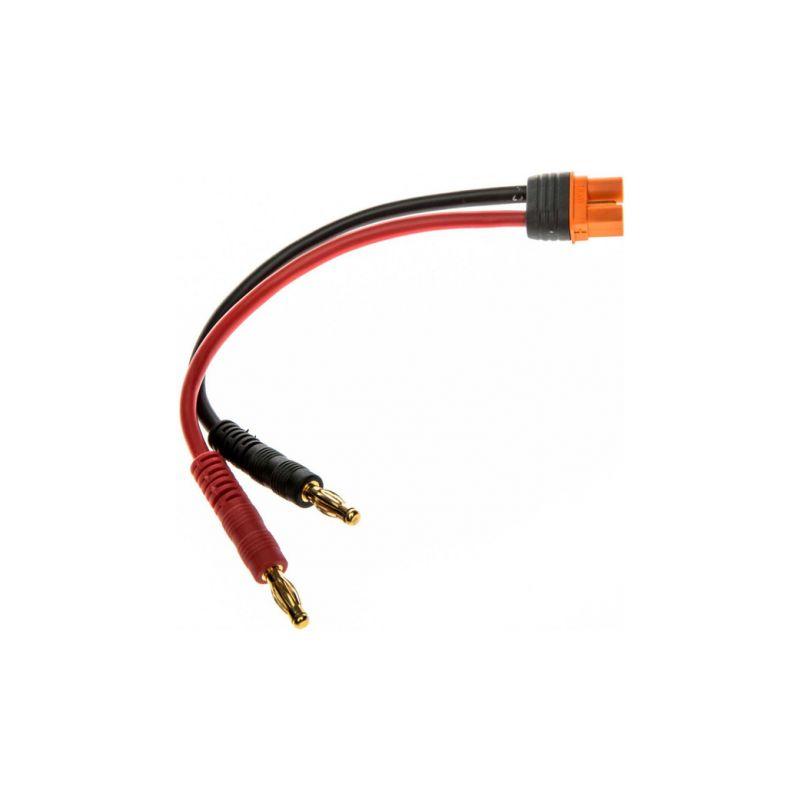 Spektrum nabíjecí kabel IC3 s banánky 15cm 13AWG - 1