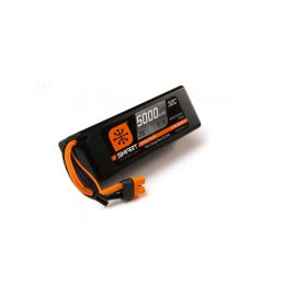 Spektrum Smart LiPo 11.1V 5000mAh 30C HC IC3 - 1