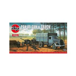 Airfix PAK 40 Gun and Truck (1:76) (Vintage) - 1