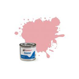 Humbrol emailová barva #57 pastelová růžová matná 14ml - 1