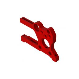 Arrma držák desky motoru hliník, červené - 1