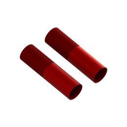 Arrma tělo tlumiče 24x88mm hliníkové červené (2) - 1
