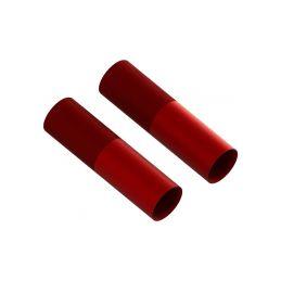 Arrma tělo tlumiče 24x83mm hliníkové červené (2) - 1