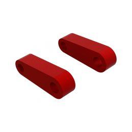 Arrma držák závěsu přední horní, červený (2) - 1