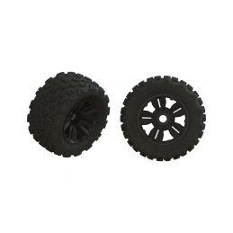 Arrma kolo s pneu Dboots Copperhead2 SB MT (pár) - 1