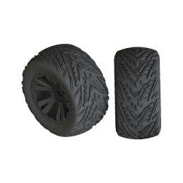 Arrma kolo s pneu Minokwa 4S černá (2) - 1