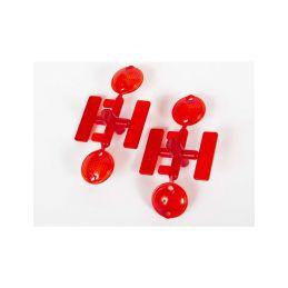 Axial světla zadní, červené (2): UMG 6x6 - 1