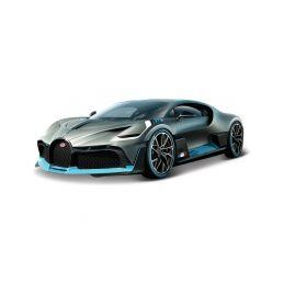 Bburago Bugatti Divo 1:18 stříbrná - 1