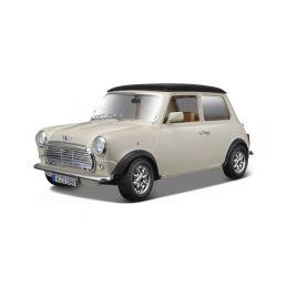 Bburago Mini Cooper 1969 1:18 krémová - 1