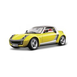 Bburago Smart Roadster 1:18 žlutá - 1