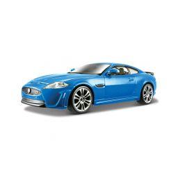 Bburago Plus Jaguar XKR-S 1:24 modrá - 1